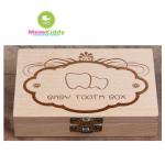 กล่องไม้เก็บฟันน้ำนม BABY TOOTH BOX