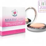 Mark Up Whitening UV Protection Powder Cake แป้งพัพผสมรองพื้น