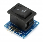 2-Mode Rocker Button Switch Module by Catalex (สวิตซ์ On/Off)