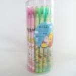 ดินสอต่อไส้ลาย banao (ขายส่งกระป๋อง 30 ด้าม)