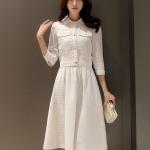 เสื้อผ้าแฟชั่น set เสื้อ และกระโปรงสีขาวสวยมากๆ