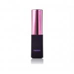 พาวเวอร์แบงค์ remax 2400 mAh Lip ลิปสติก สีชมพู