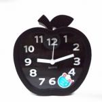 นาฬิกาปลุกแอปเปิลสีดำ รหัส 1604