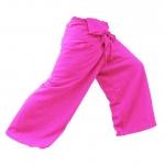 กางเกงเลย์ผ้าฝ่าย หลากสีสันมีลายในตัว ขนาด M - L - XL - XXL สามารถปรับขนาดได้ด้วยตัวเอง