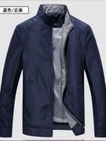 เสื้อแจ็คเก็ตคอปกแบบาง ( สินค้าพรีออเดอร์ รอสินค้า15-20 วัน )