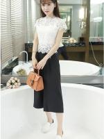 เสื้อผ้าแฟชั่นเกาหลี set เสื้อ และกางเกงสวยมากๆ ครับ