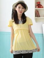 เสื้อคลุมท้องให้นม สีเหลือง