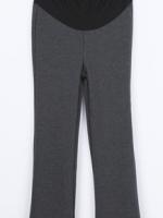 (เกาหลี) กางเกงคนท้อง เนื้อผ้าหนา ยืดได้มาก ใส่สบาย นิ่มมาก คุณภาพดี เอวยางยืดอย่างดีไม่ทำให้อึดอัด ต่อผ้าช่วยพยุงหน้าท้อง ใส่ได้นาน คุ้มราคา สีเทาดำ