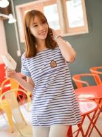 KNS015 (เกาหลี) เสื้อคลุมท้องให้นม