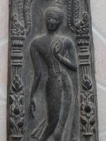 พระบูชากำแพงศอก หลวงพ่อขอม วัดโพธาราม ( วัดไผ่โรงวัว ) จ.สุพรรณบุรี ปี 2505