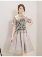 แฟชั่นเกาหลี set เสื้อ และกระโปรงสวยมากๆ ครับ