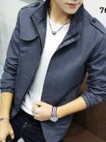 เสื้อแจ็คเก็ต แบบบาง สไตล์เกาหลี ( สินค้าพรีออเดอร์ รอสินค้า15-20 วัน )