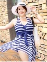 LSW067 (จีน) ชุดว่ายน้ำคนท้อง/คนอ้วน