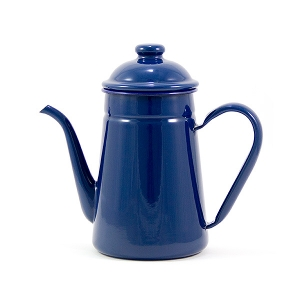 Vintage Enamel Tea Pot-1L (Midnight Blue)