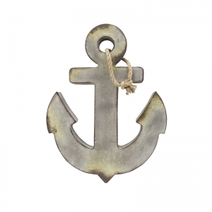 Metal Anchor, Aged Zinc Color