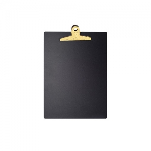 MDF Chalkboard Clipboard (Yellow)
