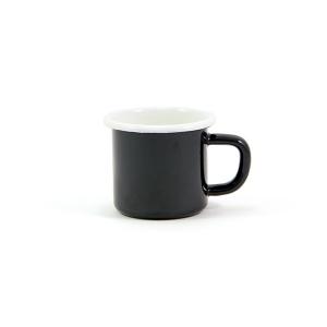 Mini Enamel Mug 6cm. (Black)