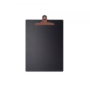 MDF Chalkboard Clipboard (Brown)
