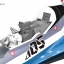 1/72 Macross Delta VF-31J Siegfried (Hayate Immelmann Custom) Plastic Model thumbnail 15
