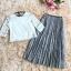 เสื้อผ้าแฟชั่นเกาหลี set เสื้อ และกระโปรงน่ารักมากๆ ครับ thumbnail 11