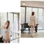 ชุดเดรสสั้น แฟชั่นเกาหลี ใส่ออกงาน สีขาวน้ำตาล ผ้าลูกไม้ แต่งกระโปรงผ้ามุ้งด้านใน สวยน่ารัก ๆ (พร้อมส่ง) thumbnail 4