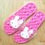 K020-DPK **พร้อมส่ง** (ปลีก+ส่ง) รองเท้านวดสปา เพื่อสุขภาพ ปุ่มใหญ่สลับเล็ก (การ์ตูน) สีชมพูเข้ม ส่งคู่ละ 150 บ. thumbnail 4