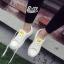 รองเท้าผ้าใบ Fashion แต่งรูปยิ้มตรงลิ้นรองเท้าและด้านหลัง เก๋ๆ thumbnail 7