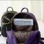 กระเป๋าเป้สะพายหลังผู้หญิง แฟชั่นเกาหลี TIANCAI (สีม่วง) thumbnail 3