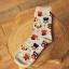 S316**พร้อมส่ง**(ปลีก+ส่ง) ถุงเท้าข้อยาว แฟชั่นเกาหลี มี 12 คู่ต่อแพ็ค พร้อมกล่อง เนื้อดี งานนำเข้า(Made in China) thumbnail 7
