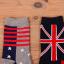 [เซต3คู่] ถุงเท้าลายธงชาติ ขนาดเท้าใส่ได้ทั้งชายและหญิง thumbnail 4