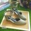 ZARA lady's shoes พร้อมส่ง รองเท้าหัวแหลมส้นเตารีด thumbnail 9