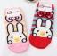 A024**พร้อมส่ง**(ปลีก+ส่ง) ถุงเท้าแฟชั่นเกาหลี จมูกกระต่าย 3 มิติ มี 2 สี ชมพู แดง เนื้อดี งานนำเข้า( Made in Korea) thumbnail 1