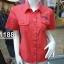 ( H 1188 ) เสื้อเชิ้ตหญิงแขนสั้น thumbnail 6
