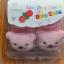 U011-2**พร้อมส่ง** (ปลีก+ส่ง) ถุงเท้าเด็ก(1- 2ปี) พับข้อ ติดหัวสัตว์ ไม่มีกันลื่น เนื้อดี งานนำเข้า ( Made in China) thumbnail 2