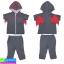 ชุด เสื้อกางเกง เด็ก Baby Town LITTLE BATBOY ราคา 240 บาท ปกติ 720 บาท thumbnail 6