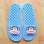 K011-SBL **พร้อมส่ง** (ปลีก+ส่ง) รองเท้านวดสปา เพื่อสุขภาพ ปุ่มเล็ก ลิง Pual Frank สีฟ้า ส่งคู่ละ 150 บ. thumbnail 1