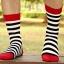 ถุงเท้าแฟร์ชั่นลายขวาง thumbnail 5