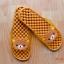 K011-BR1 **พร้อมส่ง** (ปลีก+ส่ง) รองเท้านวดสปา เพื่อสุขภาพ ปุ่มเล็ก คุมะ RIlakkuma สีน้ำตาล ส่งคู่ละ 150 บ. thumbnail 2