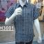 H3001 เสื้อเชิ๊ตสก้อตแขนสั้น ผู้ชาย thumbnail 3