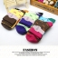 S359**พร้อมส่ง** (ปลีก+ส่ง) ถุงเท้าแฟชั่นเกาหลี ข้อยาว คละ 6 สี มี 12 คู่ต่อแพ็ค เนื้อดี งานนำเข้า(Made in China) thumbnail 5