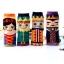 A030**พร้อมส่ง**(ปลีก+ส่ง) ถุงเท้าแฟชั่นเกาหลี ข้อสูง มี 4 แบบ เนื้อดี งานนำเข้า( Made in Korea) thumbnail 3
