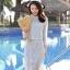 แฟชั่นเกาหลี set 2 ชิ้น เสื้อและกระโปรงผ้าลูกไม้สุดสวย thumbnail 1