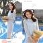 แฟชั่นเกาหลี set 2 ชิ้น เสื้อและกระโปรงผ้าลูกไม้สุดสวย thumbnail 5