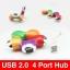 โดนัท USB 2.0 / 4 Port Hub ราคา 39 บาท ปกติ 210 บาท thumbnail 1