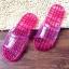 K012 **พร้อมส่ง** (ปลีก+ส่ง) รองเท้านวดสปา เพื่อสุขภาพ ปุ่มเล็ก (ใส) มี 7 สี ส่งคู่ละ 80 บ. thumbnail 23