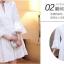 ชุดเดรสสวยๆ ผ้าคอตตอนทอ สีขาว แขนยาวห้าส่วน แขนเสื้อเก๋ ทรงกระดิ่ง thumbnail 9