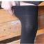 ถุงเท้ายาวเหนือเข่า สีดำเรียบ thumbnail 4