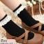 [พิเศษ 2 คู่ 120 ] ถุงเท้าลูกไม้วินเทจ thumbnail 5