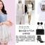ชุดเดรสสั้น ตัวเสื้อผ้ายีนส์ สีซีด แต่งด้วยคริสตรัลใสที่เสื้อทั้งตัว thumbnail 3