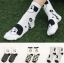 S499**พร้อมส่ง** (ปลีก+ส่ง) ถุงเท้าแฟชั่นเกาหลี ข้อยาว เนื้อดี งานนำเข้า(Made in china) thumbnail 1